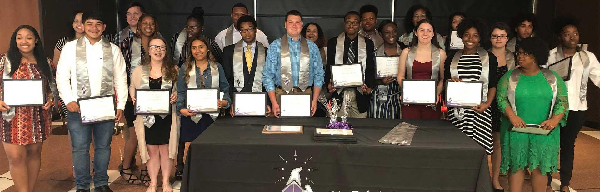 Group of National Technical Honor Society students